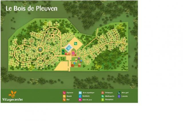 Voir le plan Ce Camping vous intéresse ~ Bois De Pleuven